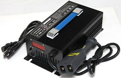 36V 18A Forklift & Golf Cart Battery Charger Powerwise Plug Yamaha EzGo Club Car