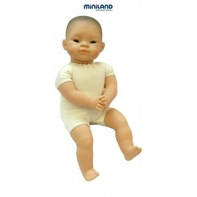 SOFT BODY ETHNIC Baby DOLL ASIAN Multicultural Pretend PLAY Kids PRESCHOOL TOY