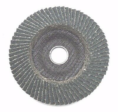 "70P ZIRCONIA FLAP DISC CURVE 4""/ 100mm GRIT 40 60 80 120 sanding metal cutting"