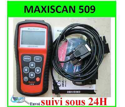 AUTEL MaxiScan MS 509 VOITURE SCANNER Multimarque VALISE DIAGNOSTIQUE OBD OBD2
