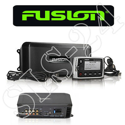 FUSION MS-BB300 Marine Entertaiment Black Box 200 Watt NRX200i Fernbedienung USB