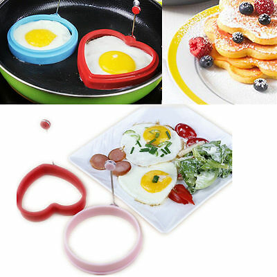 Silicone Omelette Shaper Frying Mold Pancake Poach Egg Ring Cooking Mould