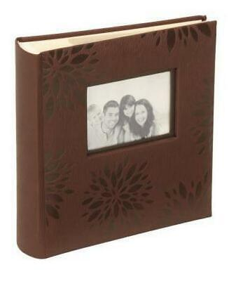 "Kenro Autumn Leaf Elegant Slip In Photo Album 200 6x4"" Memo Picture Storage"