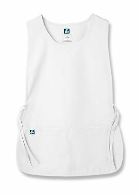 Adar Unisex Bib Apron 2 Side Ties And Deep Front Pockets-36 Color & 2 Sizes