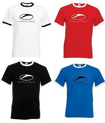 Armin Van Buuren A State Of Trance Adult Ringer T-Shirt - All Sizes & Colours