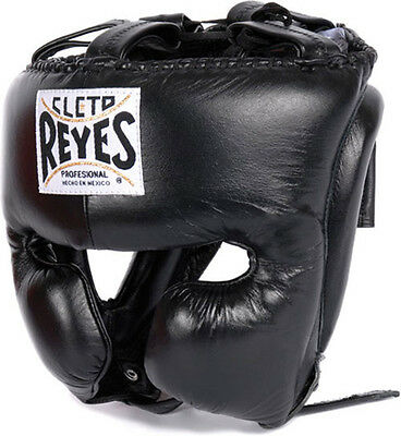 """Cleto Reyes Headgear-Cheek Protection W/Free 180"""" Rival Mexican Hand Wraps"""