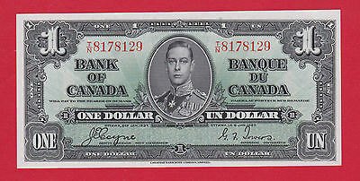 ✪ TN8178129 Bank of Canada 1937 One 1 Dollar Note Coyne Towers Choice Unc $69.95