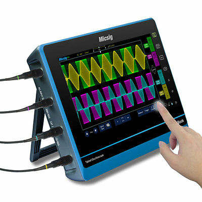 Micsig tBook TO104I 4 Channel 100MHz Tablet Oscilloscope