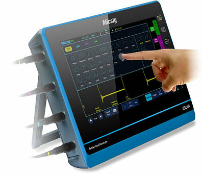 Micsig tBook TO204I 4 Channel 200MHz Tablet Oscilloscope