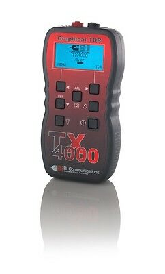 BI Communications TX4000 Graphical Time Domain Reflectometer TDR