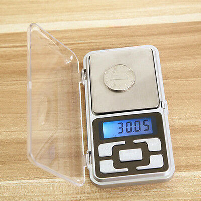 Mini LCD Small Pocket Digital Electronic Weighing Scales Accurate to 0.01g grams