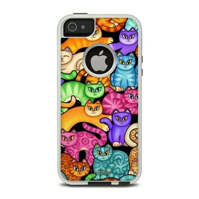 Skin for Otterbox iPhone 5/5S - Colorful Kittens by Dan Morris - Sticker Decal