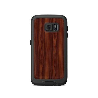 Skin for LifeProof Galaxy S6 FRE Case - Dark Rosewood - Sticker Decal