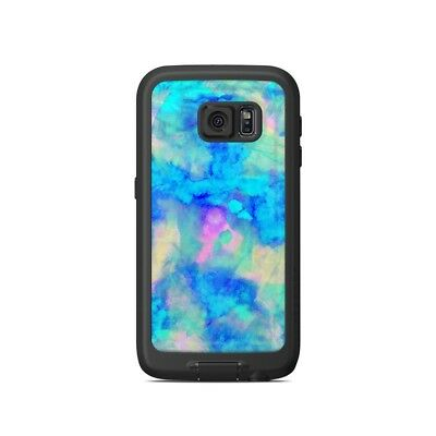 Skin for LifeProof Galaxy S6 FRE Case - Electrify Ice Blue - Sticker Decal