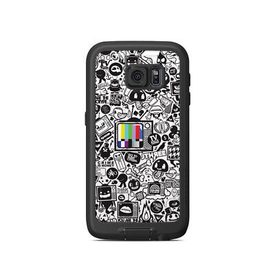 Skin for LifeProof Galaxy S6 FRE Case - TV Kills Everything - Sticker Decal