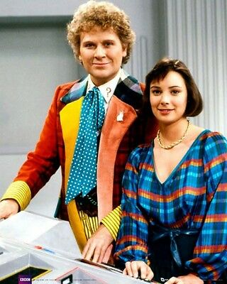 """Colin Baker & Nicola Bryant (Doctor Who] 8""""x10"""" 10""""x8"""" Photo 59783"""