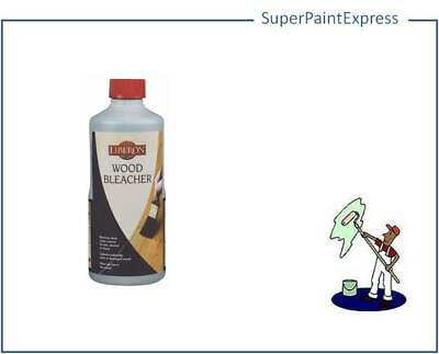 Liberon Wood Bleacher Removes Dark Stains And Lightens Wood. 125Ml, 500Ml, 5 Ltr
