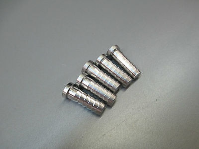"""(5) 1/4"""" Barb Plugs. Stainless Steel Fittings 1002119"""
