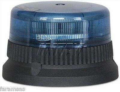 Faro lampeggiante LED blu INTAV FLEXILED 9 Power LED