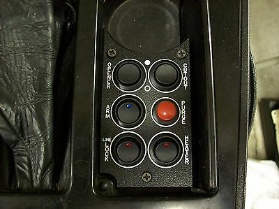 84-89 Corvette Console Switch Panel Nitrous Oxide etc..
