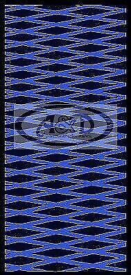 Hydroturf Sheet 37 X 58 Cut Diamond Universal Hydro 2 tone BLACK/BLUE