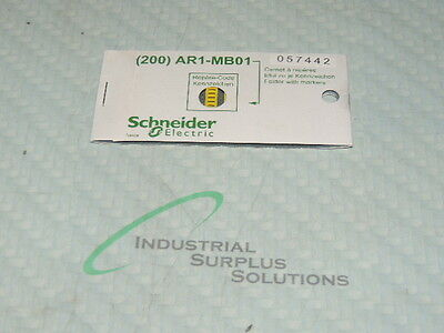 Schneider Ar1-Mb01I / 057442 Cable Ends Card Of 200