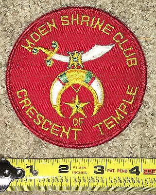 MDEN Shrine Club Crescent of Temple Patch