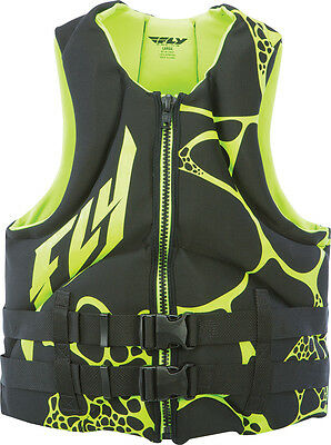 Fly Racing Neoprene Vest Black/green S
