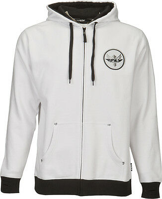 Fly Racing Fresh Hoody White L