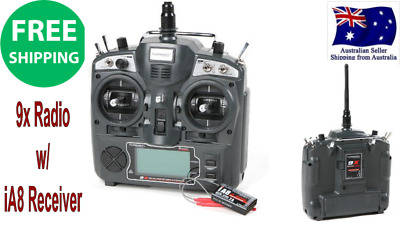 Turnigy 9X 9CH Transmitter w/ Module & 8CH Receiver Mode1 2.4GHZ Very Long range