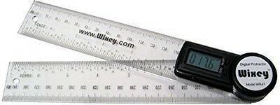 "8"" Digital Protractor Rule Measuring Miter Bevel Angle Layout Scalling Precision"