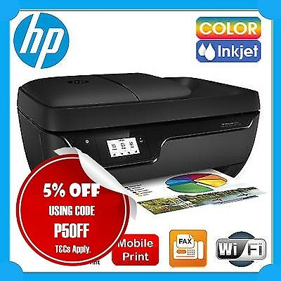 HP OfficeJet 3830 4in1 Wireless Inkjet MFP Printer+FAX+ADF+Mobile Print+AirPrint