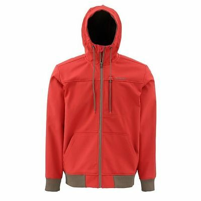 Simms ROGUE Fleece Hoody ~ Ruby NEW ~ Size Large ~ CLOSEOUT