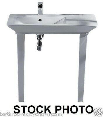 XD Bathroom 800mm Vanity Washstand Opulence Hers with Basin Tap and Waste Set