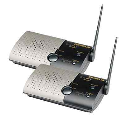 Chamberlain NLS2 Wireless Portable Intercom-Double Unit Intercom System Home