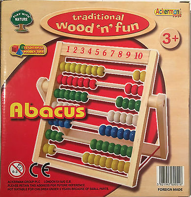 Educational ABACUS for children - Wooden frame - Mathematical toy