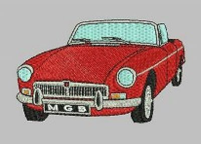 MGB Roadster Embroidered & Personalised T Shirt