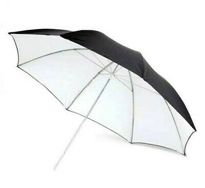"PHOTTIX® Reflector studio Umbrella 101cm 40"" White/Nero Ombrello Riflettente"