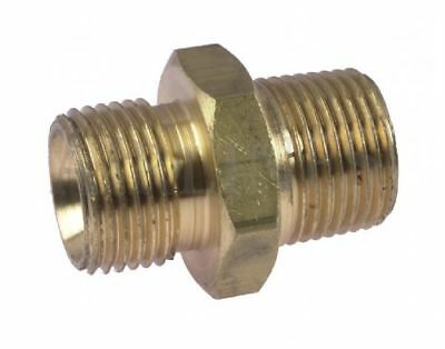 Male Nipple brass BSP cone/taper Adaptor