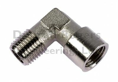 Nickel Plated Brass Male/Female BSP Equal Elbow