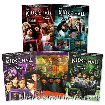 Kids in the Hall: Complete TV Series Seasons 1 2 3 4 5 Box / DVD Set(s) NEW!