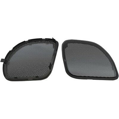 HogTunes Metal Mesh Speaker Replacement Grills For Harley Road Glide 2015-2017