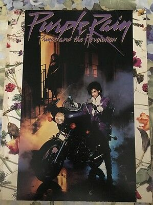 PURPLE RAIN Prince And The Revolution Songbook Dated 1984 Music