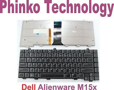 NEW Keyboard for Dell Alienware M15x with Backlit