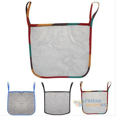Baby Pram Carrying Toy Nappy Storage Hanging Mesh Bag Net Car Stroller Organizer