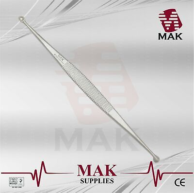 M@K Extractors Unna 14cm Double Round Ends Fine Quality Surgical Instruments