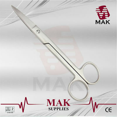M@K Dissecting Scissors Sharp/Sharp Straight/Curved 13/14/15/17.5cm Fine Quality