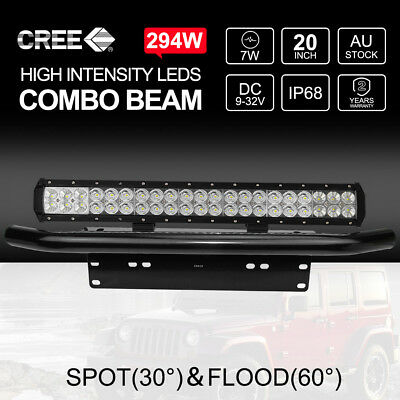 """7 inch 200W HID Driving Lights XENON Spotlights Offroad 4WD UTE Work Lamps 7"""""""