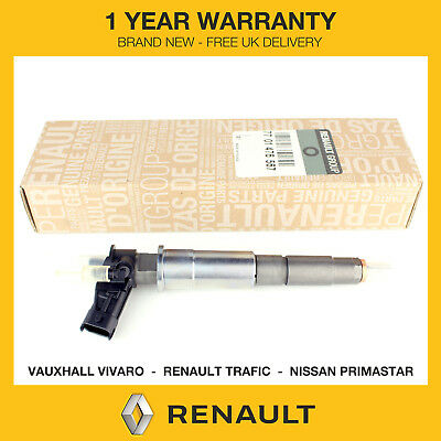 1x Genuine Renault Fuel Injector Fits Renault Trafic 2.0 DCI M9R *0445115007*