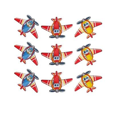 10 Chocolate Aeroplanes-Kids Birthday Welcome Aboard Theme Parties Promotions